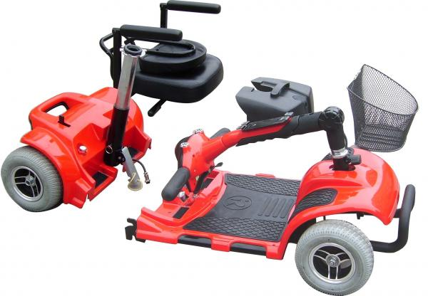 Quality classic folding cheapest price for  mini light 4 wheel mobility scooter  with CE FDA from Chnese supper manufactory for sale