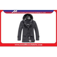 China Slim Fit Winter Mid-long Men Trench Coat Breathable and Plus Size Man Outerwear wholesale