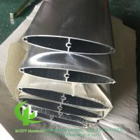 China guangdong manufacturer aluminium louvres for building decoration as per architect design 100mm size wholesale