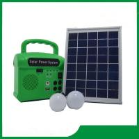 Buy cheap Home lighting solar system with radio, led lamp 2pcs, cell phone charger, solar system price from wholesalers