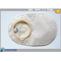 China 57Mm Closed Two Piece Colostomy Bag , Small Colostomy Bags with Carbon Filter wholesale