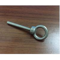 China M3 M4 M5 M6 Stainless Steel Bolt , Lifting Stainless Steel Eye Bolts With High Precise wholesale