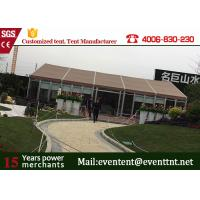 China Rot - proof Big Size White Aluminum Large Frame Tent For Party / Events wholesale