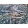 China Self Color Mild Steel Grating , Fire Brigade Driveways Galvanised Grid Flooring wholesale