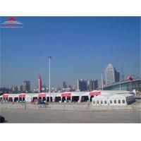 China Simple 25x40m Commercial Party Marquee Tent With Clear PVC Window wholesale