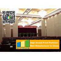 China Ceiling Suspended Folding Partition Walls Sound Absorbing For Seminars Room wholesale