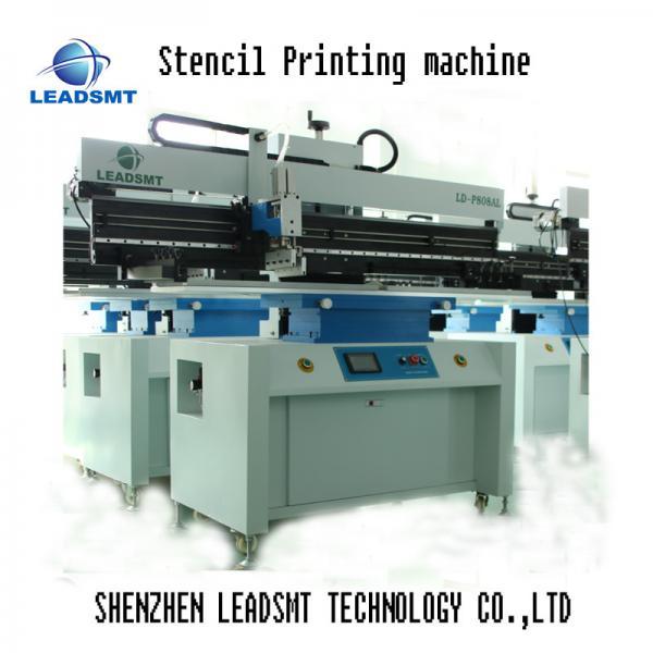 Quality 1.2M led smd stencil Printer , smt stencil Printing machine for sale