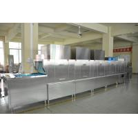 China SS Restaurant Kitchen Dishwasher , Automatic Dishwashing Machine 36kw Rinse Heater wholesale