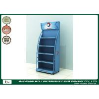 China Red Customized Motor Oil Display Rack Shoe Racks 750mm*450mm*1800mm on sale