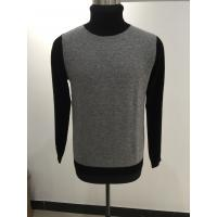 China Cable Knit Mens Turtleneck Sweater , Merino Wool Nice Sweaters For Guys wholesale