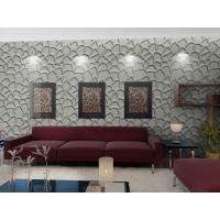 China Fashion Wall Art  3D Living Room Wallpaper , Modern 3D Wall Panel for Sofa Background wholesale
