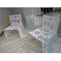 China Personalized OEM Modern Living Room Furnitures Dining Chairs with Hollowed-out Work wholesale