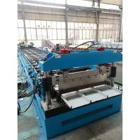 China Hydraulic Kliplock roll forming machine 0.3-0.8mm Thickness 25 Stations wholesale