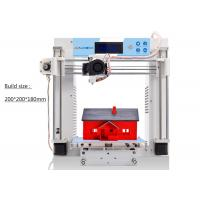 China White Nozzle Large Area 3D Printer Heated Bed Home Use SD Card 8GB on sale