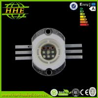 China 700mA 10w Full color RGB LED Diode , High Power LED module / beads wholesale