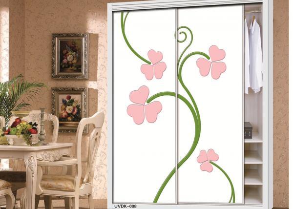 Quality Stylish Matt / Textured Interior Sliding Door 4x8 MDF Board For Furniture for sale
