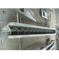 China U Type Auger Screw Conveyor High Temperature Horizontal For Cement on sale