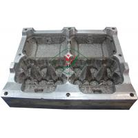 China Aluminium Egg Box / Clam Shell  Dies 6 Cavities Pulp Mould with High Precision wholesale