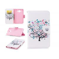 China Colorful Tree Pu Leather Phone Case Mixed Color With Multi Function For Huawei wholesale