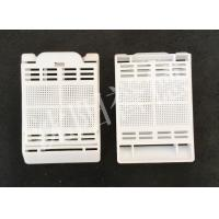 China White Color Tissue Embedding Cassette Square Hole For Hold Biopsy Specimen Safely wholesale