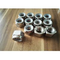 China N08031 Alloy 31 Nut Nickel Alloy Fasteners With Hex Square Head As Per DIN934 on sale