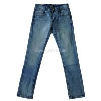 China Man's Jeans with Whiskers and Sandblast wholesale