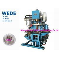 China Pressure Rotor Vertical Die Casting Machine For Rotor 4 Rotary Stations Cycle Time 8 Seconds wholesale