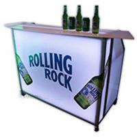 Outdoor folding portable smart bar with wheels for club
