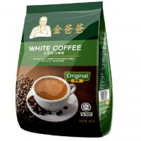 China Original Flavour 3 In 1 480 Gram White Coffee Bag With Degassing Valve wholesale