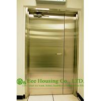 China Chemical Resistant Stainless steel 90 min fire rated industrial hinged door on sale