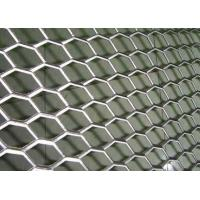 China Rhombus Hole Expanded Metal Mesh Hot Dipped Galvanized Surface Thickness 4mm wholesale