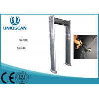 UM600 Multiple Size Walk Through metal detector body scanner For Government Office