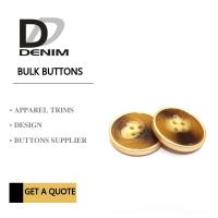 China Polyester Bulk Clothing Buttons 4 Holes Colorful Assembed Combination Button wholesale