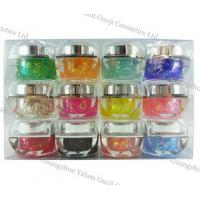 China Portable 15g / Bottle UV Gel Nails With base gel, 160 Colors For Nail Art Printer wholesale