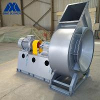 China Large Scale Flue Gas Forced Draft Ac Centrifugal Exhaust Fan on sale