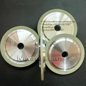 China 14A1  vitrified bond diamond grinding wheel for ceramic for pcd tools miya@moresuperhard.com on sale