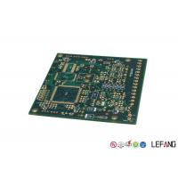 Buy cheap PCB Multilayer Circuit Board Green Solder Mask With Immersion Gold Operating from wholesalers