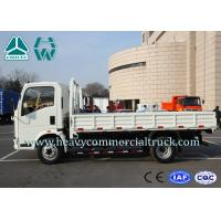 China 3 Tons Top Configuration 4X2 Side Wall Mini Cargo Truck Low Fuel Consumption wholesale