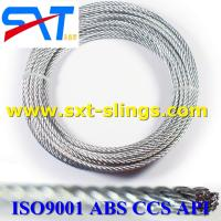 China ungalvanized steel wire rope slings exporter 8*19S+IWR wholesale