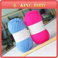 China 40 grams ball DIY crochet 100% acrylic yarn for knitting 8S / 4 in blue wholesale