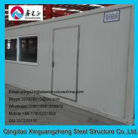China 20ft joint flat pack container single door slide window house wholesale