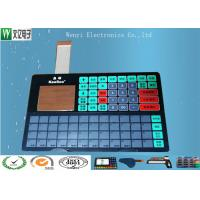 China IP67 Waterproof Membrane Switch ZIF Connector LCD Window For Electronic Scale on sale