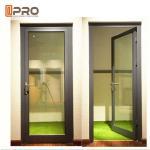 China High Strength Durable Aluminium Hinged Doors With PVDF Surface Treatment wholesale