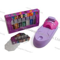 China Customized Portable Nail Art Printer Black / Yellow With Nail Stamps For Nails Art Design wholesale