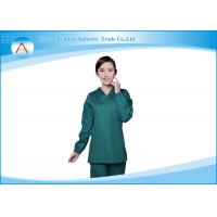 China Womens Fashion Tall Medical Wear Scrubs Uniforms Tops And Pants Set on sale