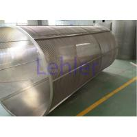 China Rotary Drum Johnson Wedge Wire Screens Inside To Outside Type Perfect Roundness wholesale