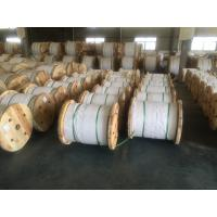 China 7 Strands 3 8 Inch Steel Messenger Cable ASTM A 475 EHS , Diameter 1.24-5.50mm on sale