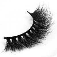 China Volume Black 3D Mink Lashes 3d Individual Lashes Lightweight 6-18 Mm Length wholesale