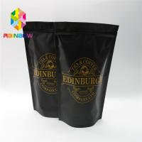Buy cheap Stand Up Plastic Pouches Packaging Coffee Bag With Zipper And Valve from wholesalers