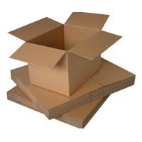 China Moistureproof Custom Cardboard Boxes For Shipping , Single Wall Box wholesale